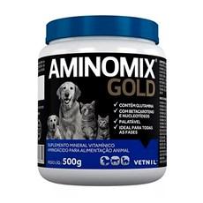 Suplemento Aminomix Gold Caes E Gatos - 500g
