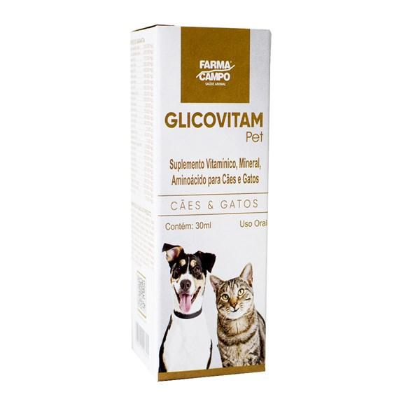 Suplemento Glicovitan Pet Farmacampo 30mL