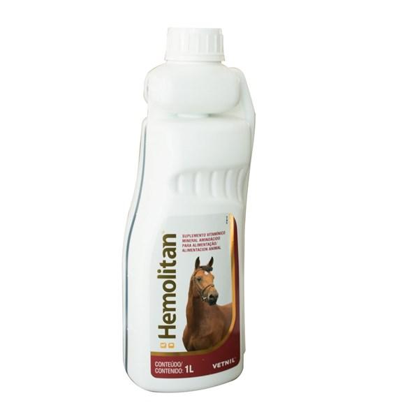 Suplemento Hemolitan Vetnil - 1 Litro