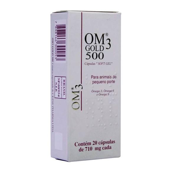 Suplemento Om3 Gold 500 C/ 20 Cápsulas