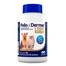 Suplemento Pelo & Derme 1500 DHA+EPA  Vetnil C/60 Cápsulas