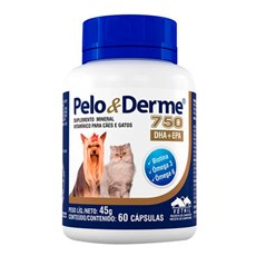 Suplemento Pelo & Derme 750 DHA+EPA C/ 60 Capsulas