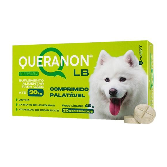 Suplemento Queranon LB Caes Ate 30Kg  Avert
