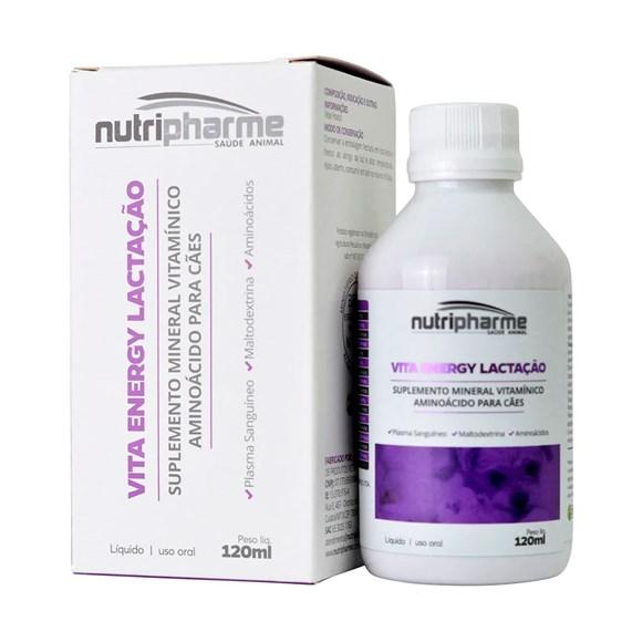 Suplemento Vitaenergy Lactação Para Cães Nutripharme - 120mL