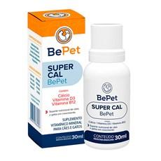 Suplemento Vitaminico SuperCal Caes e Gatos BePet - 30mL
