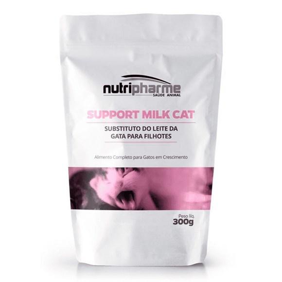 Support Milk Cat Alimento Gatos Filhotes Nutripharme - 300g