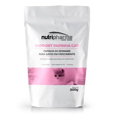 Support Papinha Cat Alimento Completo P/ Gatos Filhotes 300g