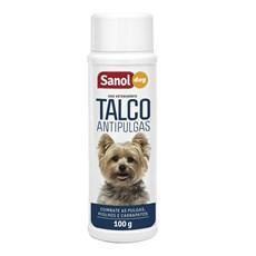 Talco Antipulgas Sanol Dog - 100g