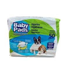 Tapete Higienico Caes Baby Pads C/50 Unidades