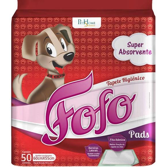 Tapete Higiênico Cães Fofo Pads C/50 Unidades