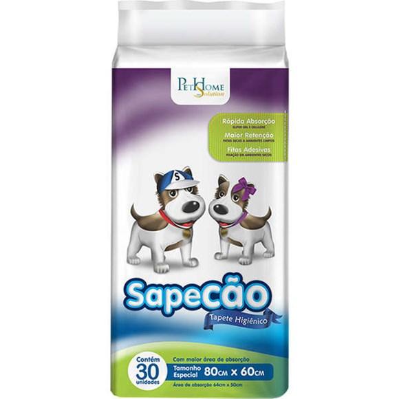 Tapete Higiênico Cães Sapecão C/30 Unidades