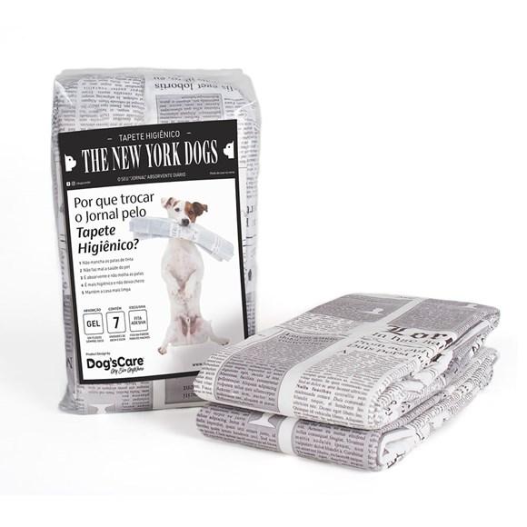 Tapete Higienico Cães The New York Dogs 80x60 C/7 Unidades