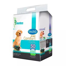 Tapete Higiênico Comfort Bamboo Cães Chalesco C/50 Unidades