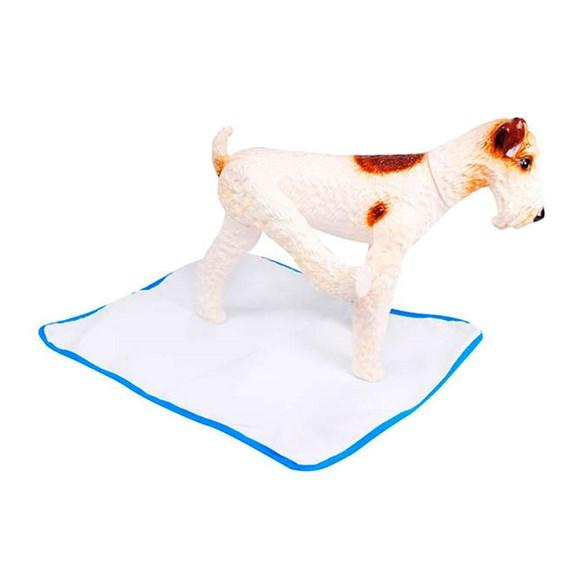 Tapete Higiênico Lavável Grande Pet Wash São Benedito Pet Azul