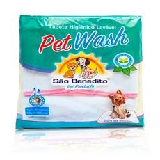 Tapete Higiênico Lavável Pequeno Pet Wash São Benedito Pet Rosa