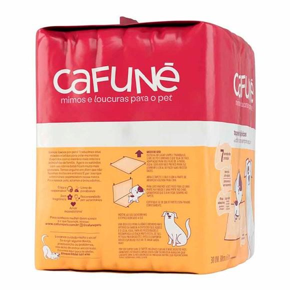 Tapete Higiênico Para Cães Cafuné 80x60cm C/30 Unidades