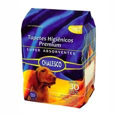 Tapete Higiênico Para Cães Chalesco C/30 Unidades