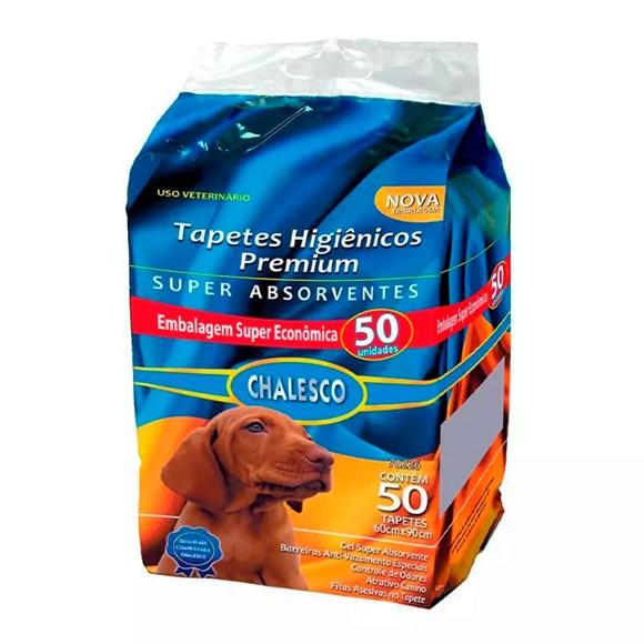 Tapete Higiênico Para Cães Chalesco C/50 Unidades