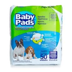 Tapete Higiênico Sanitário para Cachorro Baby Pads 50 Unidades Petix