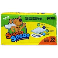 Tapete Higiênico Sanitário Para Cachorro Super Secão 30 Un.