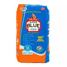 Tapetes Higiênicos Expet Super Blue Premium C/30 Unidades