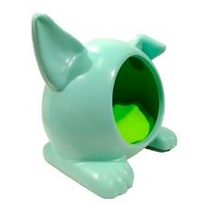 Toca Ideal Cães e Gatos Verde Pequeno