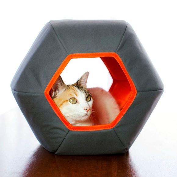 Toca Para Gatos Gatton Mundi Cinza