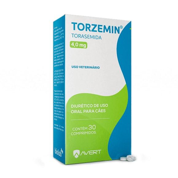 Torzemin 4mg Avert C/30 Comprimidos