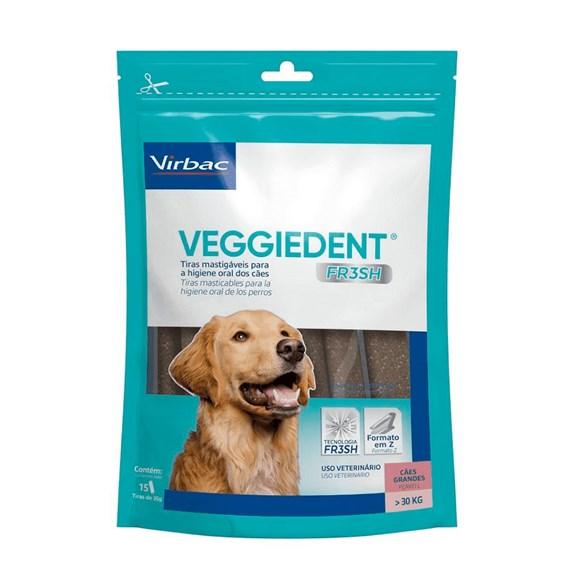 Veggiedent  Fresh Para Cães Grandes Acima 30Kg - Virbac