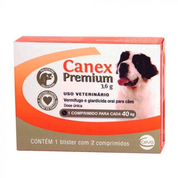 Vermifugo Canex Premium Caes 3,6g