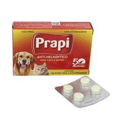 Vermífugo Coveli Prapi 660mg C/4 Comprimidos
