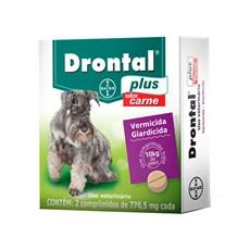 Vermifugo Drontal Plus Caes 10kg (2 com)