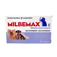 Vermífugo Milbemax Com 2 Comprimidos Para Cães Até 5kg