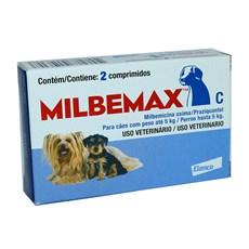 Vermifugo Milbemax Com 2 Comprimidos Para Caes Ate 5kg