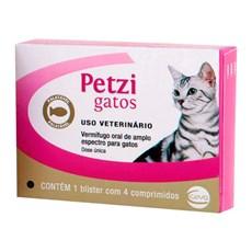Vermífugo Petzi Gatos - Ceva