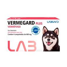 Vermífugo Vermegard Plus Cães Labgard - 660mg