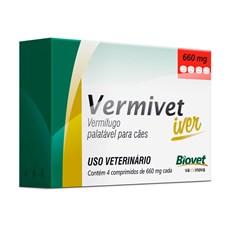 Vermivet Iver Vermífugo Cães Biovet – 660mg