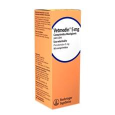 Vetmedin Mastigavel Para Caes 5mg C/ 50 Comprimidos