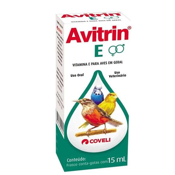 Vitamina Estimulante Coveli Avitrin E - 15ml