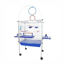 Viveiro Triplex Calopsita Azul Jel Plast