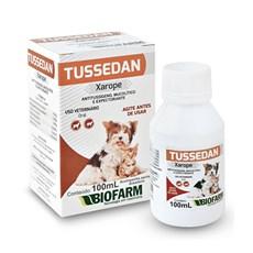 Xarope Cães e Gatos Tussedan Biofarm – 100mL
