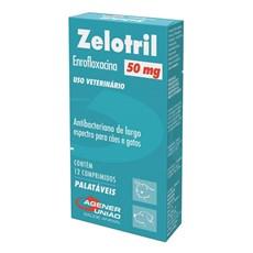 Zelotril Agener 50mg Para Cães E Gatos C/ 12 Comprimidos